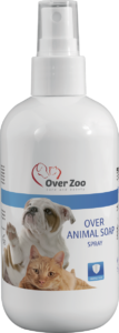 Over Animal soap spray