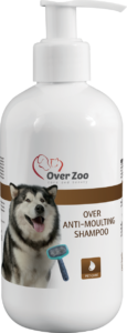 Over anti-moulting shampoo