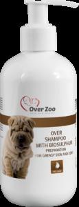 Over shampoo with biosulphur
